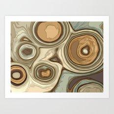 Canyon rocks series No. 2 of 10 Art Print