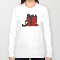 peanuts Long Sleeve T-shirts featuring Dragon Peanuts by le.duc