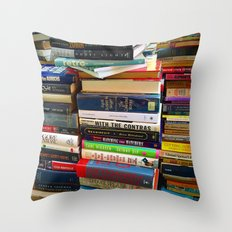 More Books Throw Pillow