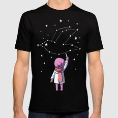 Constellation LARGE Mens Fitted Tee Black