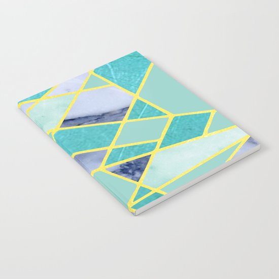 Abstract #439 in Green and Gold Notebook