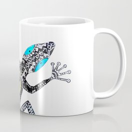 Sticky fingers. Gecko, by Miss C Coffee Mug