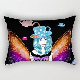 The TeaTime Fairy Rectangular Pillow