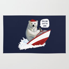 Sailing Outta Here Rug