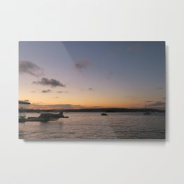 A Sydney Sunset Metal Print
