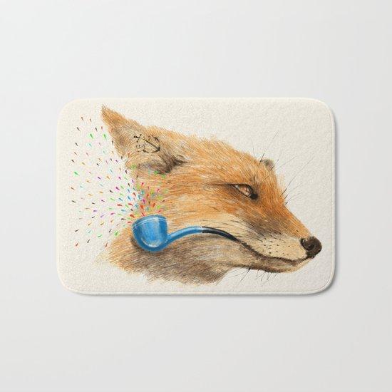 Fox V Bath Mat