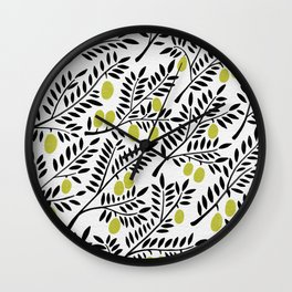 Little Lemons Wall Clock