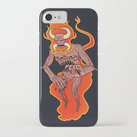 demon iPhone & iPod Cases featuring Demon by Justin McElroy