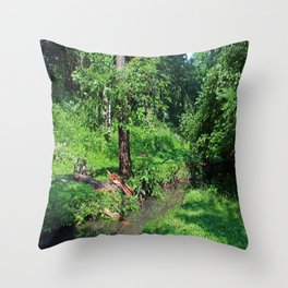 A Good Song Throw Pillow