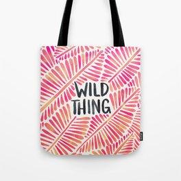 Wild Thing – Pink Ombré & Black Palette Tote Bag