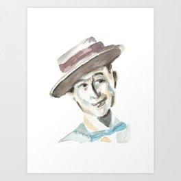 Oscarito Art Print