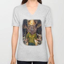 Oh Deer Unisex V-Neck