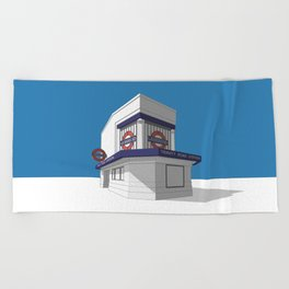 Trinity Road (Tooting Bec) Beach Towel