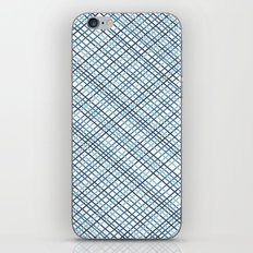 Weave 45 Blues iPhone & iPod Skin