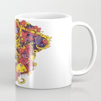 pilot Mugs featuring Pilot by Tshirt-Factory