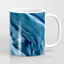 Deep Blue Drip Coffee Mug
