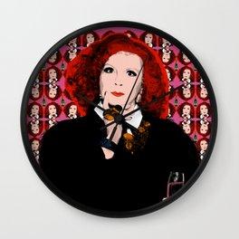 "TV Queens - Ab Fab Eddie ""Nicer Things"" Wall Clock"