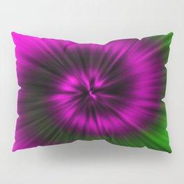 TIE DYE #1 (Magentas & Greens) Pillow Sham