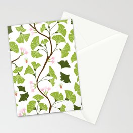 tree leaves #762 Stationery Cards