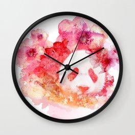 Hana Pink Wall Clock