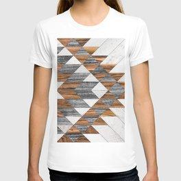 Urban Tribal Pattern No.12 - Aztec - Wood T-shirt