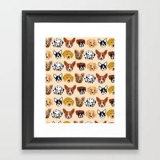 Dogs! Framed Art Print