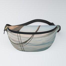 Sailing I Sailboat I Haiti I Caribbean Sea I ocean I Travel photography I art print I pirate Fanny Pack
