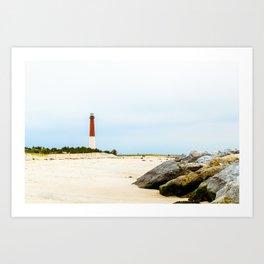 Barnegat Lighthouse Art Print