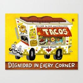 Taco Truck Canvas Print