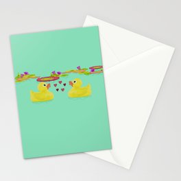 Duckies Stationery Cards
