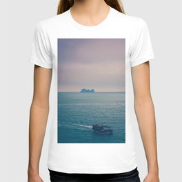 Somewhere at Sea - Peaceful Solitary Places (Ha Long Bay, Vietnam landscape photography) T-shirt