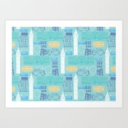 Queen and Country - Mint Art Print