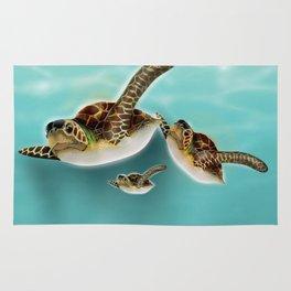 Sea Turtles Rug