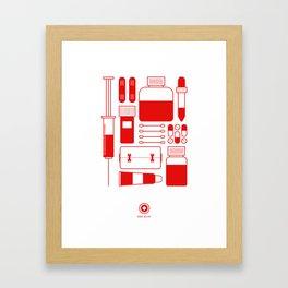 First Aid Kit Framed Art Print