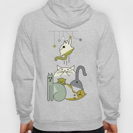 Cats playing Hoody