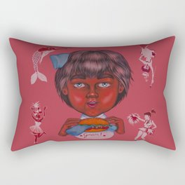 Cicciobello Gnam! Rectangular Pillow