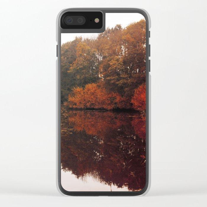 Autumn Scenery #5 Clear iPhone Case