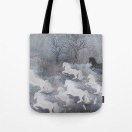 phantom horses Tote Bag