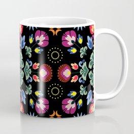 Fiesta Folk Black #society6 #folk Coffee Mug