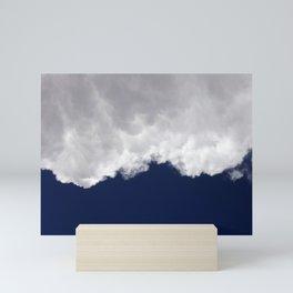 Rumble Blue Mini Art Print