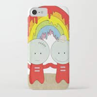 equality iPhone & iPod Cases featuring Equality  by The Ghost and Robot