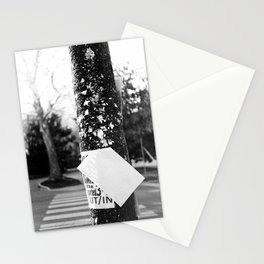 Telephone Pole Stationery Cards