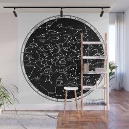 Star Map  Wall Mural