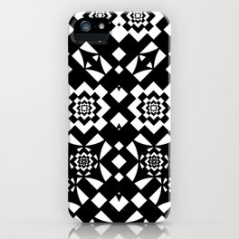 NAKED GEOMETRY no 7 iPhone Case