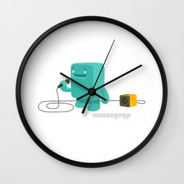 hai, so desu ne Wall Clock