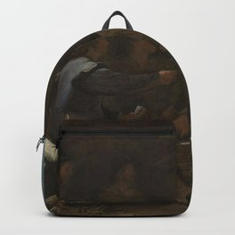 Michael Sweerts - The Card Players Backpack