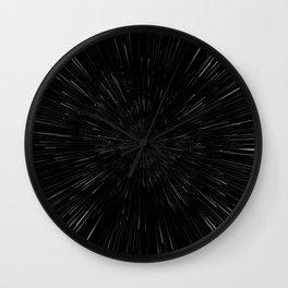 Planet Pixel Rush Wall Clock