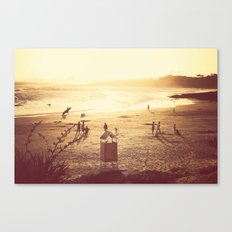 La Barra Sunset Canvas Print