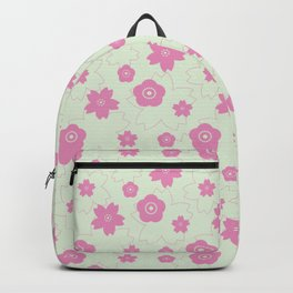 Sakura blossom - spring green Backpack