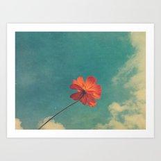 Flutter, Float, Fly Art Print